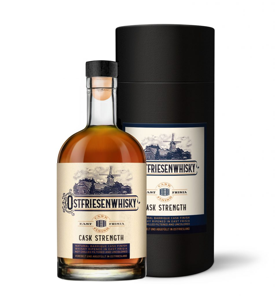Whisky mit Tube Verpackung