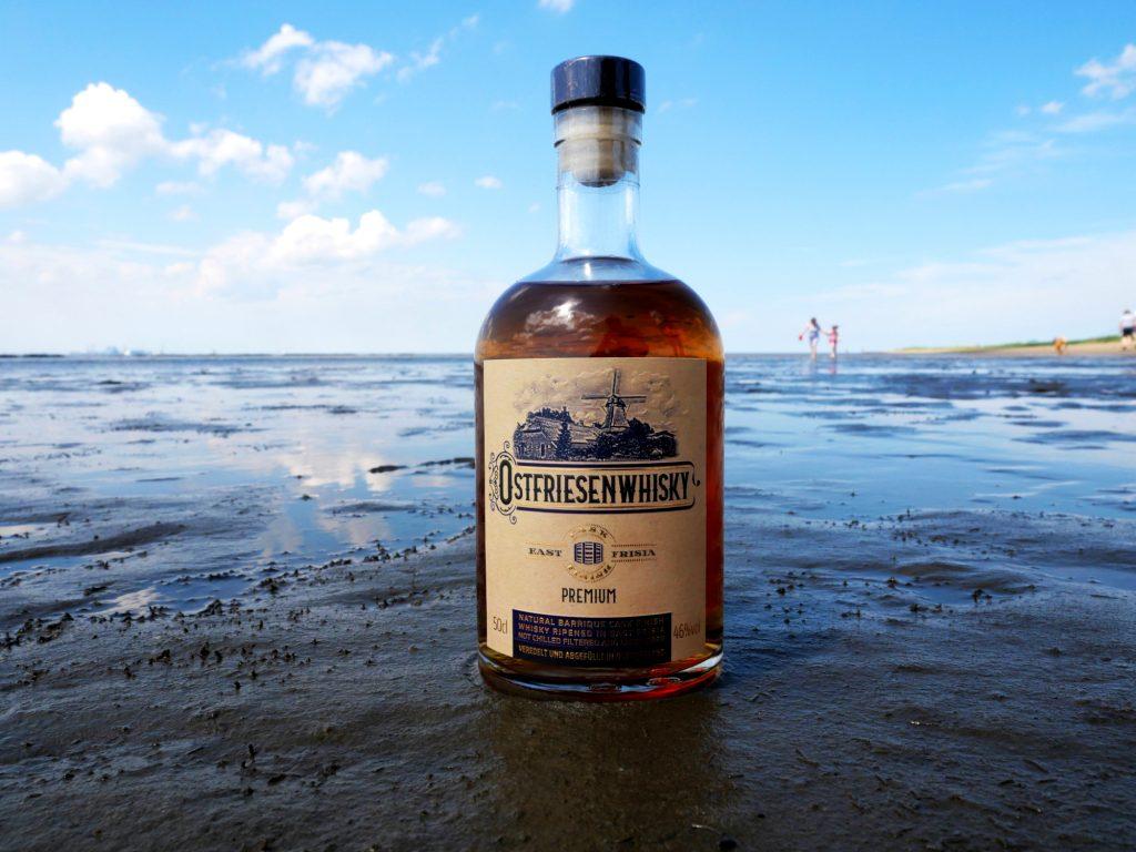 Ostfriesenwhisky im Watt